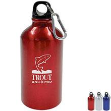 Budget Meeter Aluminum Sports Bottle, 17 oz.