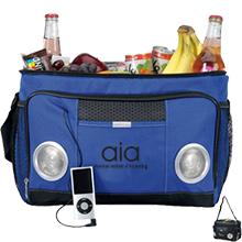 Encore Music Cooler with Built In Speakers