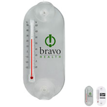 Acrylic Oval Temperature Gauge