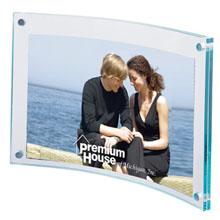 """Arc Acrylic Frame, 4"""" x 6"""""""