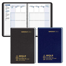 Column-Style Weekly Desk Planner
