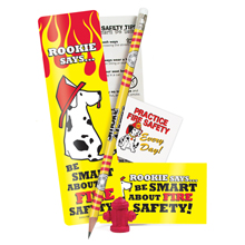 Rookie Fire Safety Teaching Aid Kit, Stock