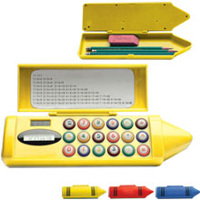 Crayon Shaped Pencil Box Calculator
