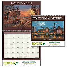 Country Memories Wall Calendar