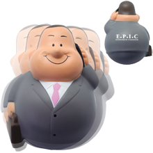 Business Man Wobbler Stress Reliever
