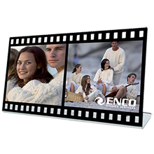 Acrylic Film Double Photo Frame