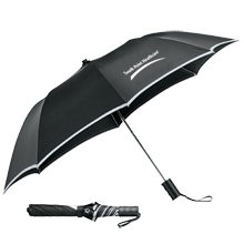 "Auto Folding Safety Umbrella, 42"" Arc"