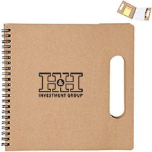 Handled Eco Notepad & Flag Set