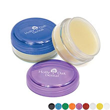 Mint Beeswax Lip Balm in Colorful Jar