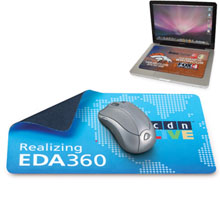 Travel-Soft™ Mouse Mat & Cleaning Cloth