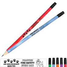 Practice Fire Safety Dalmatian Family Mood Pencil