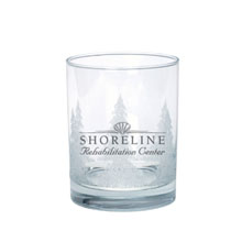 Executive Tumbler w/ Iced Tree Design, 13.5oz.