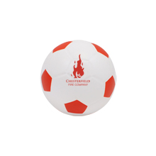 Foam Soccer Ball w/ Painted Pentagons, 4""