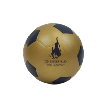 Foam Soccer Ball w/ Painted Pentagons, 6""