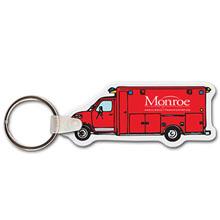 Ambulance Full Color Key Tag