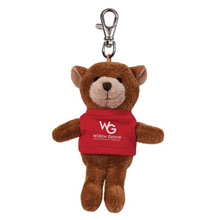 Bear Wild Bunch Plush Key Tag