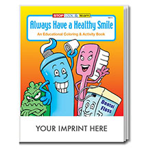 Always Have A Healthy Smile Coloring & Activity Book