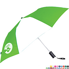 "Auto Folding Umbrella, 42"" Arc"