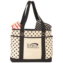 Addy Cotton Canvas Fashion Tote