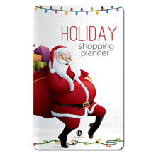 Holiday Shopping Planner Key Points™ - Santa Design