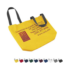 Colored Duck Canvas Wheelchair Tote Bag