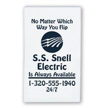 Business Card Tip-Top Magnet