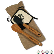 Bamboo Kitchen Gift Set w/ Pot Holder