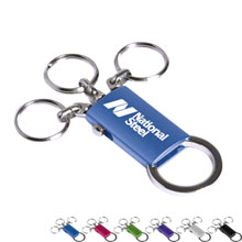 Aluminum 4-in-1 Detachable Key Ring
