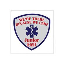 Junior EMT Temporary Tattoo, Stock