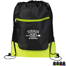 Aster 210D Polyester Drawstring Cinch Backpack
