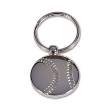 Baseball Metal Key Holder