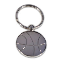 Basketball Metal Key Holder