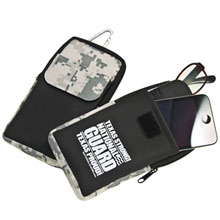 Digital Camo Cell Phone, Eyeglass and Gadget Holder Case