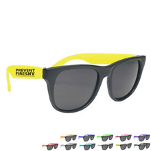 Vibrant Trim Sunglasses