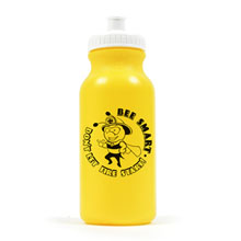 Bee Smart Don't Let Fire Start Bike Bottle 20oz, Stock- Closeout, On Sale!