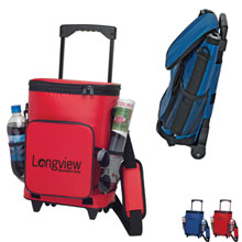 Rolling Insulated 18-Can Cooler Bag - Free Set Up Charges!