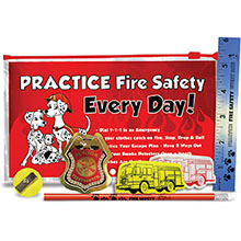 Practice Fire Safety Every Day School Kit, Stock