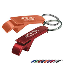 Aluminum Bottle & Can Opener Key Ring