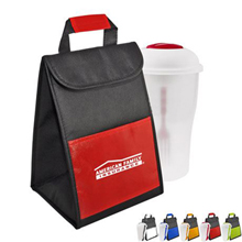 Salad-To-Go Shaker Cooler Set
