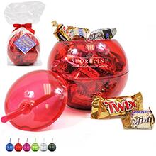 Fiesta Beverage Ball Gift Set w/ Mixed Chocolates, 20oz.
