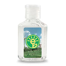 Citrus Antibacterial Hand Sanitizer Gel, 2oz.