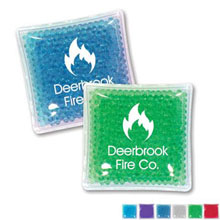 "Gel Bead Hot & Cold Pack, 4"" x 4"""