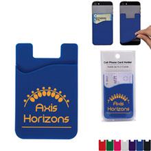 Cell Phone Card Holder w/ Retail Packaging