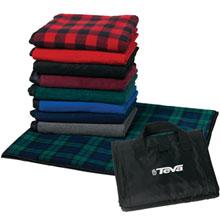 """Rittenhouse Square Waterproof Fleece Picnic Blanket, 50"""" x 60"""""""