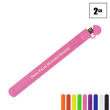 Carson USB Flash Drive Bracelet, 2GB