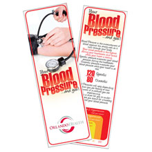 Blood Pressure Bookmark