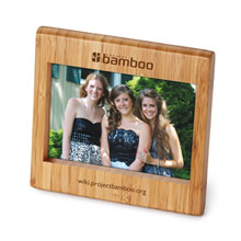 "Bamboo Photo Frame, 4"" x 6"""