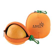 Orange Fruit Buddy Neoprene Pouch