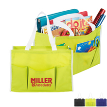 Multi-Purpose 600D Pocketed Tote