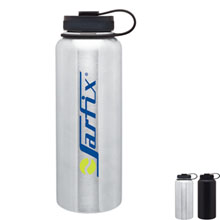 Titan Stainless Steel Wide Mouth Water Bottle, 40oz.